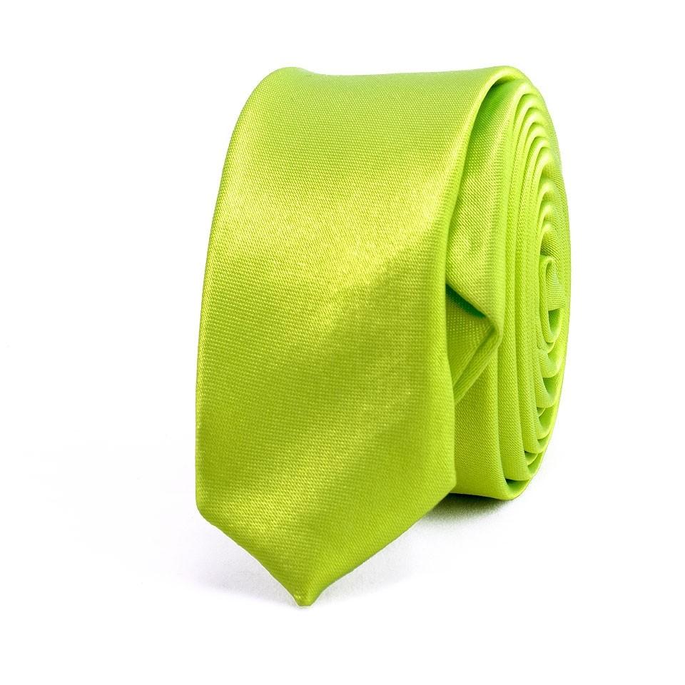 Супер узкий галстук (зеленый)