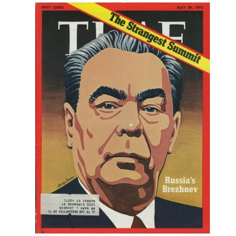 Журнал Time, тема: Брежнев