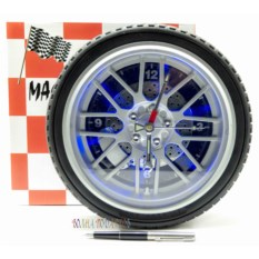 Часы Колесо с подсветкой (диаметр 26 см)