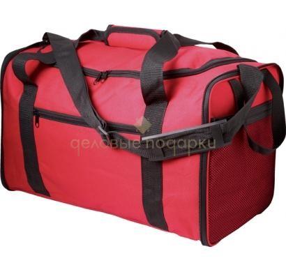 Спортивная складная сумка Columbus (цвет - красный)