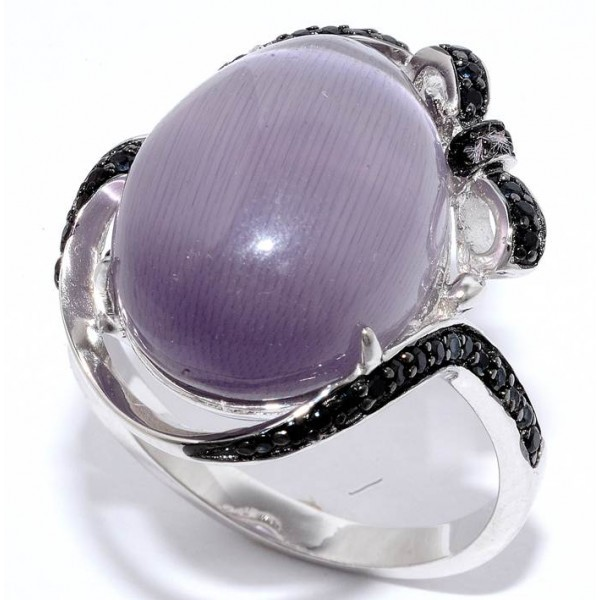 Кольцо с цирконием