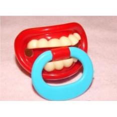 Детская соска с зубами Кузьма