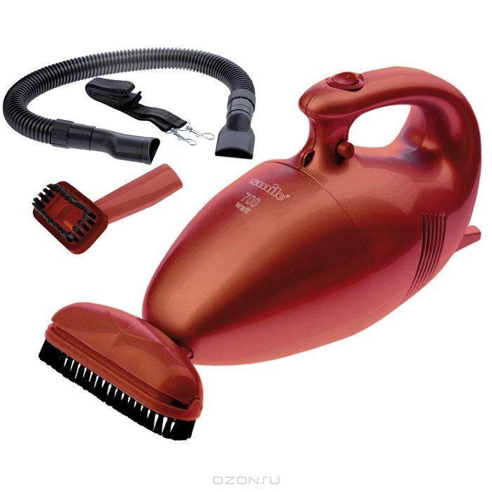 Ручной пылесос Smile HVC 831, Metallic Red