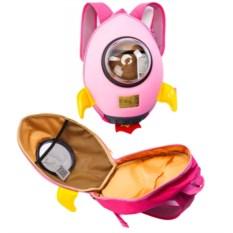Розовый ранец «Ракета»