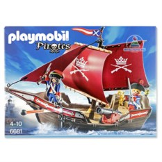 Конструктор Playmobil «Солдатский патрульный корабль»
