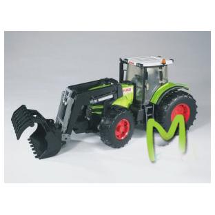 Трактор Claas Atles c ковшом Bruder (Германия)