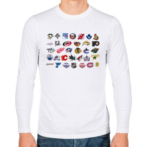Мужская футболка с длинным рукавом NHL
