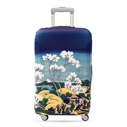 Чехол для чемодана LOQI Museum Hokusai