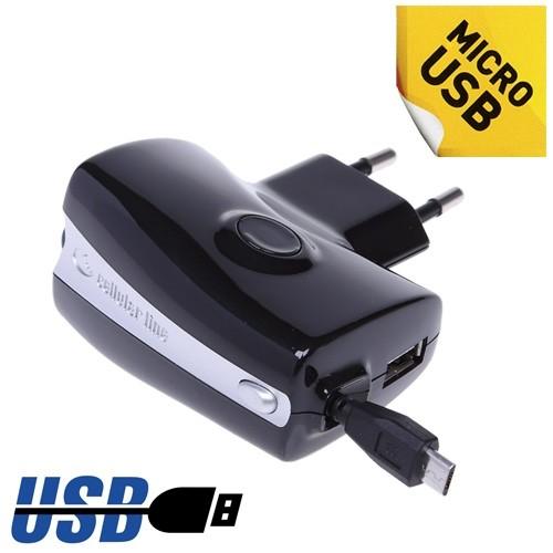 Зарядное устройство с самосматывающимся кабелем «Roller»