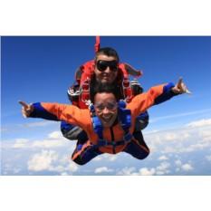 Сертификат Прыжок с парашютом в тандеме с высоты 3 км