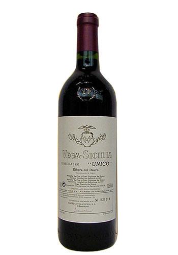 Вино Vega Sicilia Unico