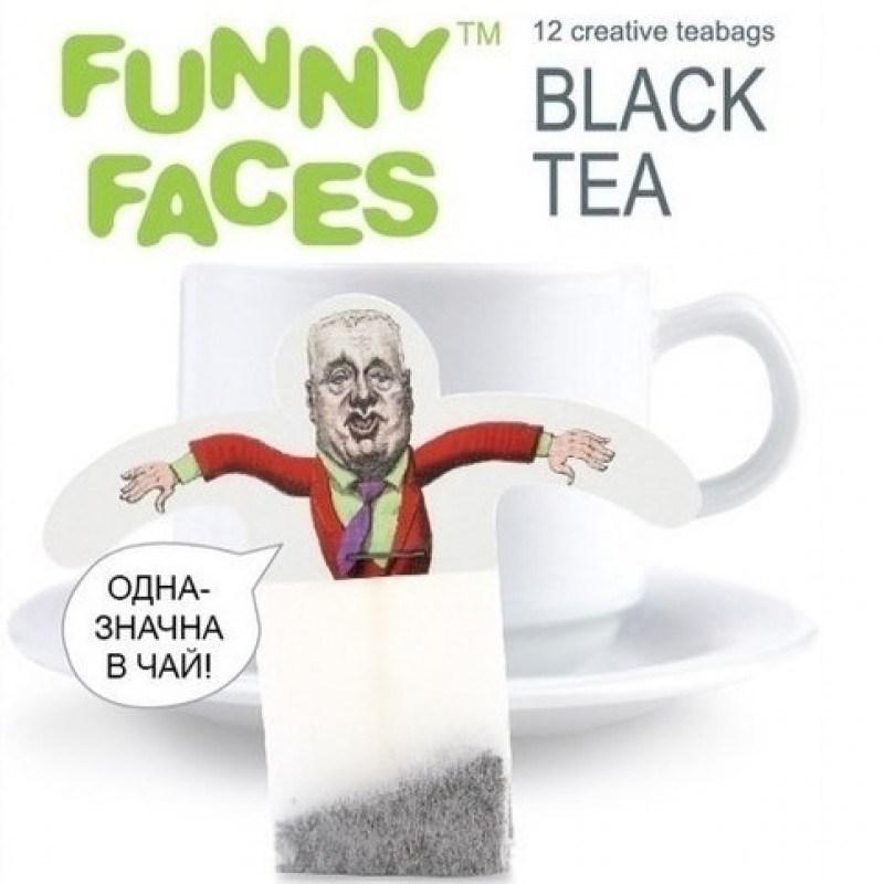 Черный чай Funny Faces