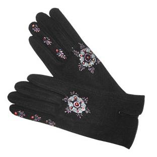 Перчатки av «Розовые снежинки»