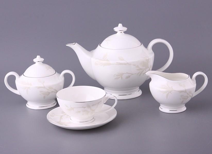 Чайный сервиз Медиссон на 6 персон из 15 предметов
