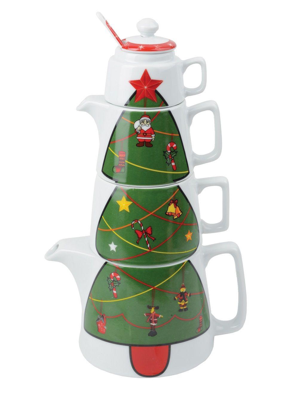 Набор для чаепития Новогодний