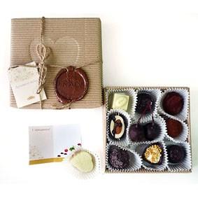 Набор конфет ручной работы «Думаю о тебе»