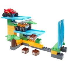 Конструктор Mattel Mega Bloks Вспыш. Гонки в джунглях