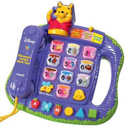 Развивающая игрушка Обучающий телефон Винни