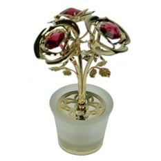 Фигурка декоративная Swarovski Три розы