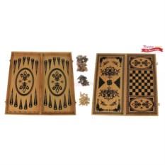 Подарочные шашки и нарды Восточные
