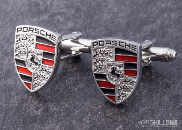 Запонки Porsche