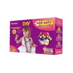 Набор для творчества: детский бисер Pop Arty