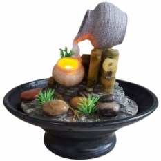 Настольный декоративный фонтан с подсветкой Сила воды