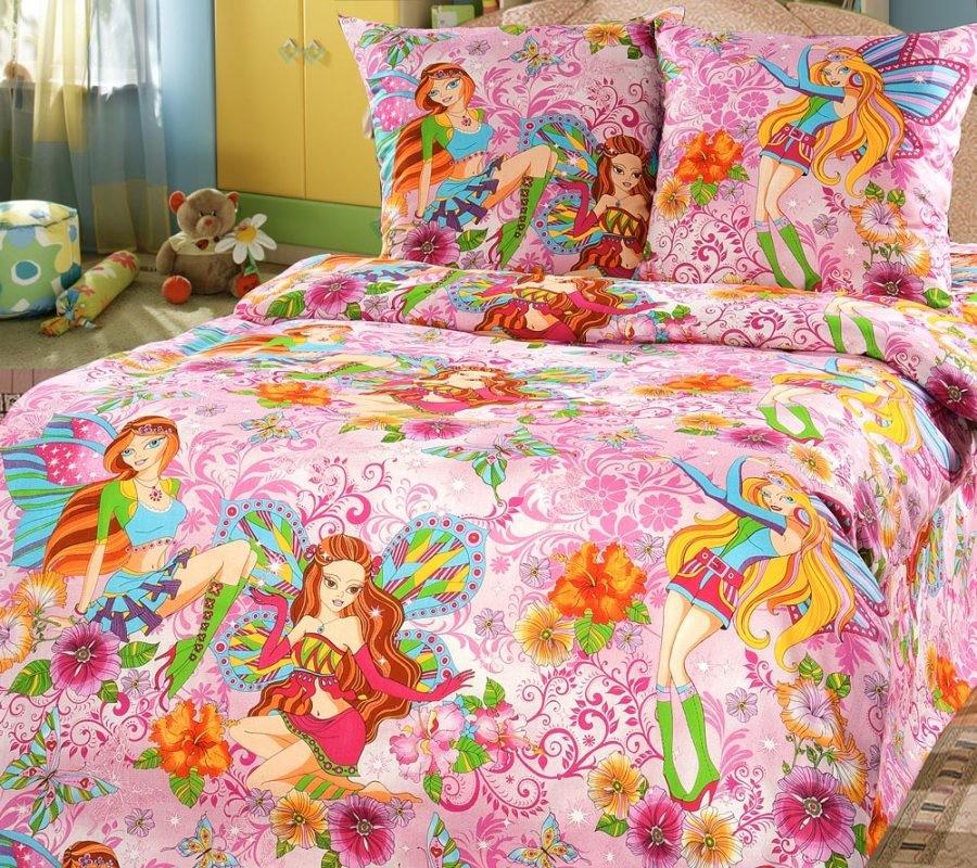 Комплект постельного белья Добрые феи (ясельный)