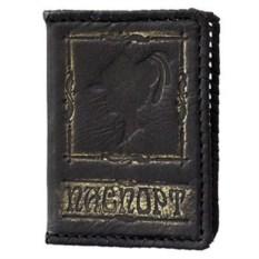 Женская кожаная обложка для паспорта