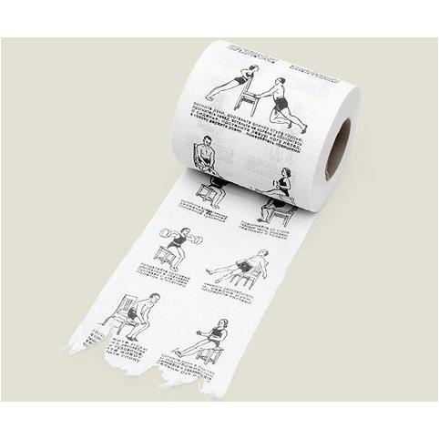 Туалетная бумага «Гимнастика сидя»