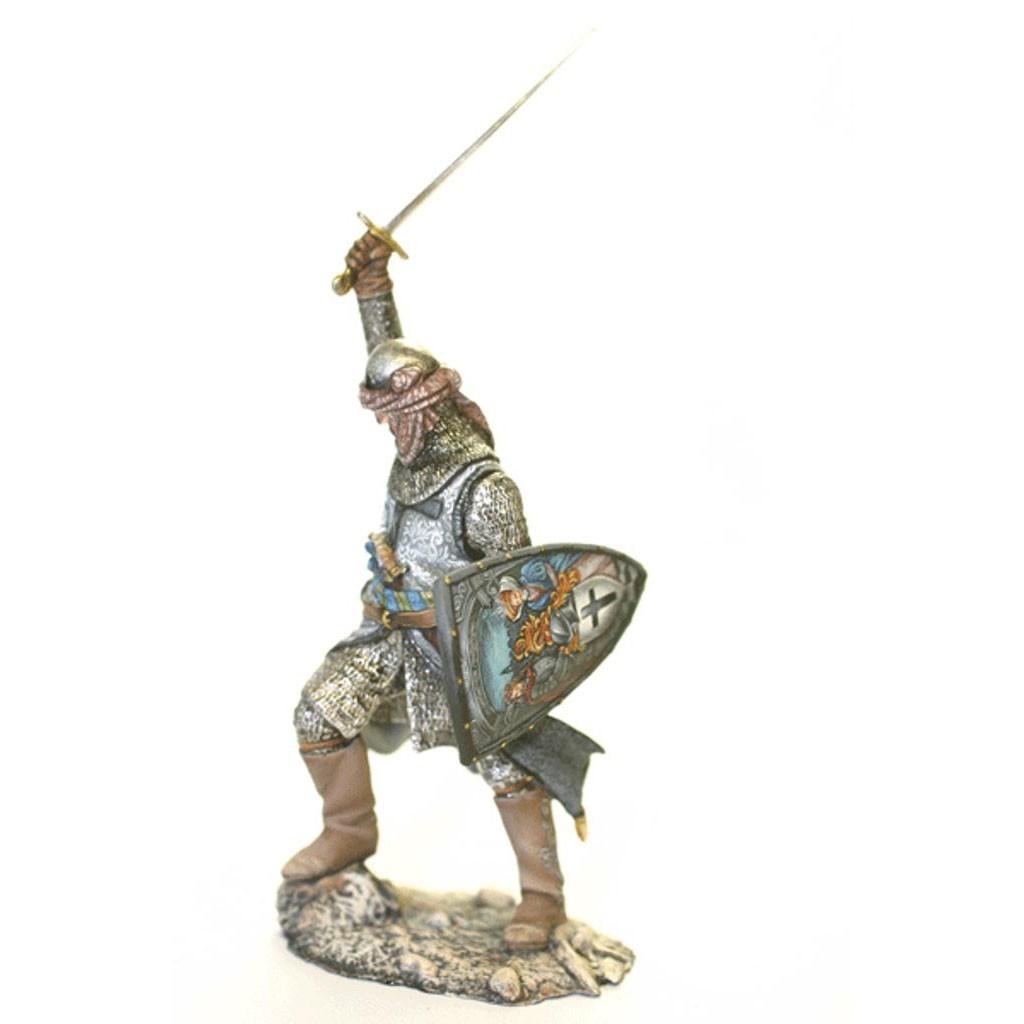 Оловянный солдатик: рыцарь в доспехах