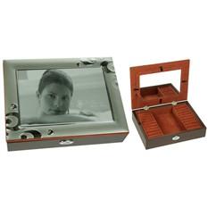 Шкатулка с фоторамкой для ювелирных украшений Primrose