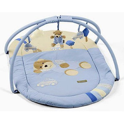 Развивающий коврик со снимающимися игрушками Медвежонок Билли