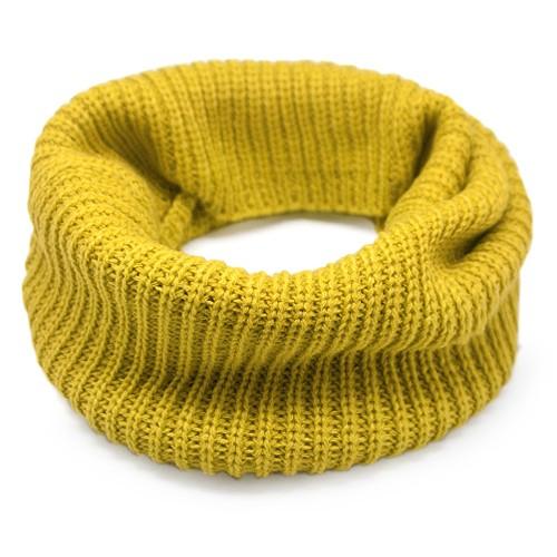Шарф-снуд Lulu (желтый)