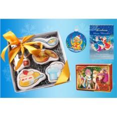 Новогодний подарок с волшебным печеньем «Хозяюшка»
