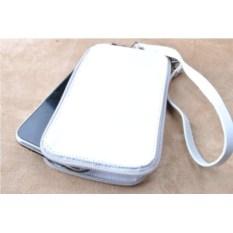 Кожаная сумочка «Белая симфония»