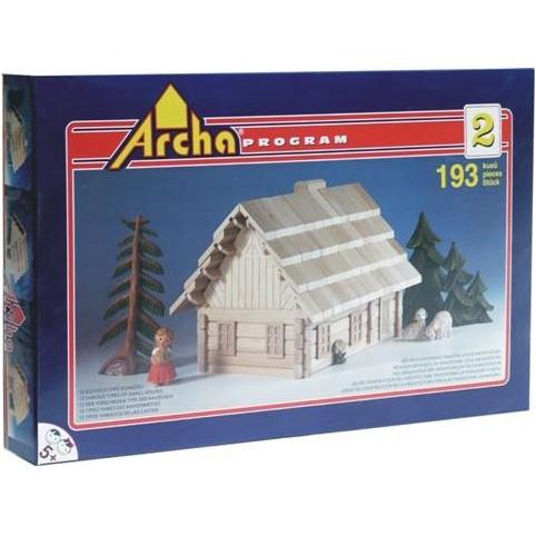 Деревянный конструктор  Archa Program. Набор ARCHA-2