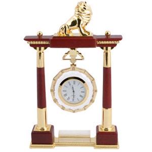Часы настольные «Лев»