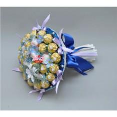 Букет из конфет Северное сияние
