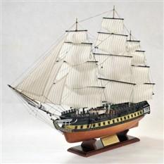 Модель корабля  U.S.S. Constitution