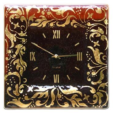 Настенные часы «Русский гламур»  380х380 мм