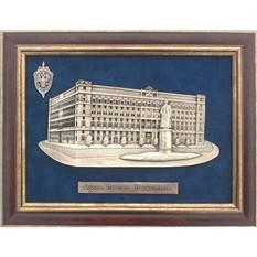 Картина из металла Площадь Дзержинского