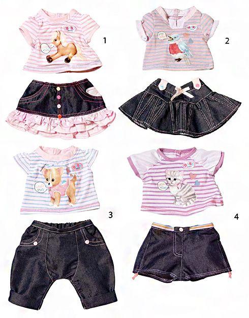 Одежда для куклы BABY born, ZAPF CREATION