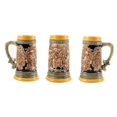 Пивная коллекционная кружка Застолье