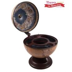 Настольный глобус-бар Сокровища древнего Рима