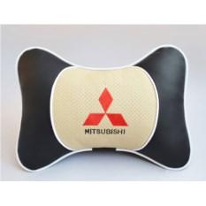 Подушка на подголовник Люкс, Mitsubishi