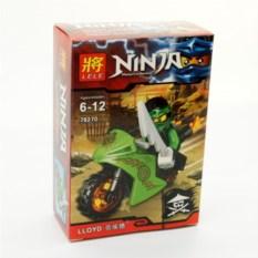 Конструктор Lele Ninja Ллойд на мотоцикле