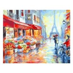 Картины по номерам «Вдвоем по Парижу»