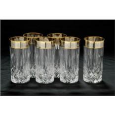 Хрустальные бокалы для воды CreАrt