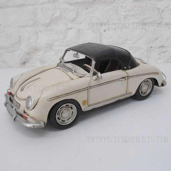 Ретро-автомобиль 1955 White Porsche Speedster